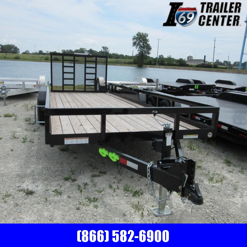 2020 Sure-Trac Tube Top Utility Trailer