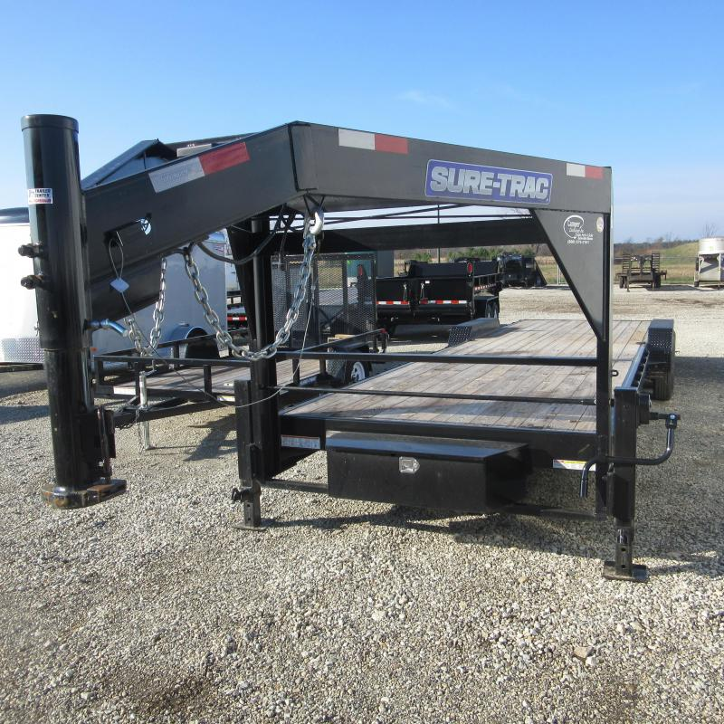 2018 Sure-Trac 81x28 implement gn Equipment Trailer