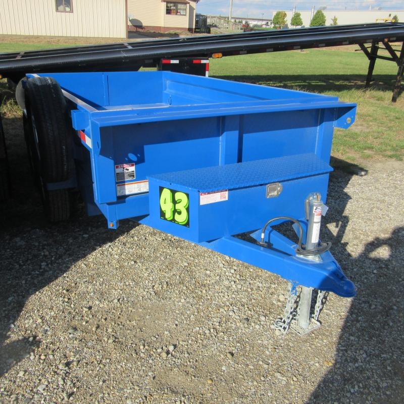 2018 Sure-Trac 62x10 dump trailer Dump Trailer