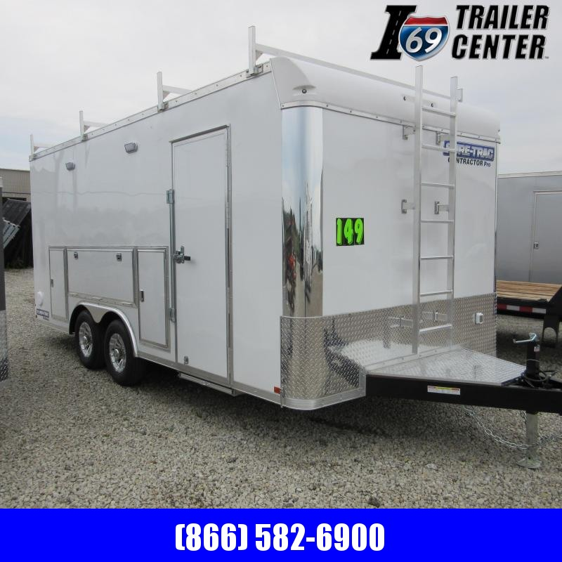 2020 Sure-Trac 8.5 x 18 10K Contractor Pro Bullnose Enclosed Cargo Trailer