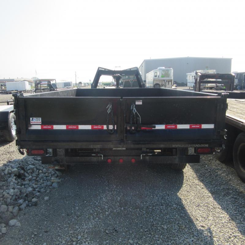2013 Sure-Trac 96x14 deckove rdump Dump Trailer