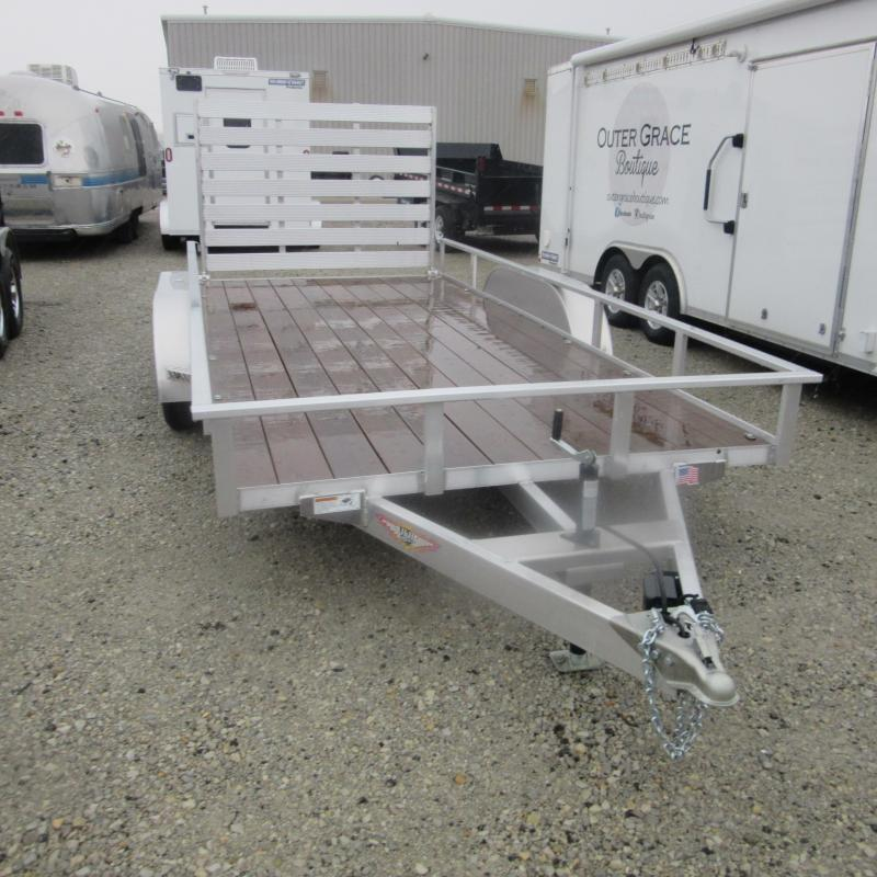 2017 H and H Trailer 7x16 alum utility Utility Trailer