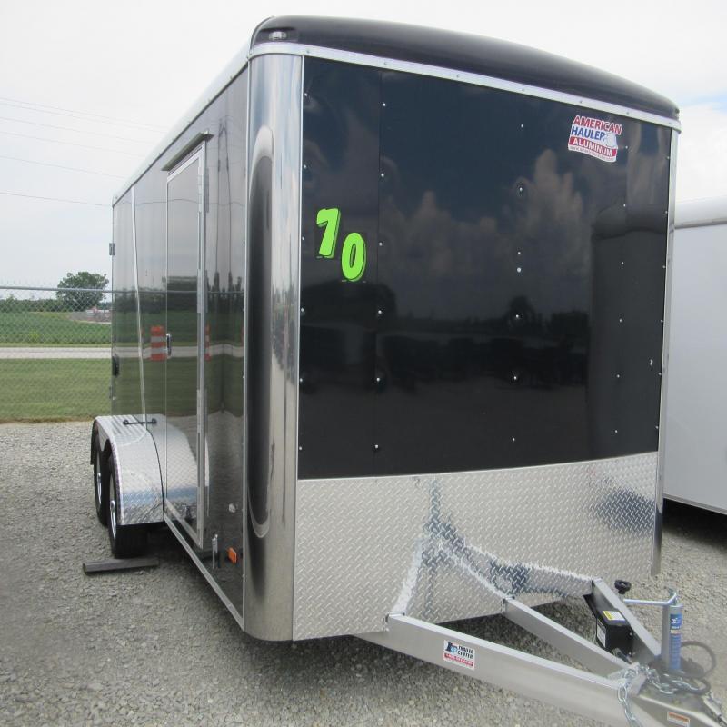 2017 American Hauler Industries 7x14 enclosed alum Enclosed Cargo Trailer