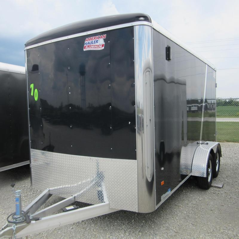 2017 American Hauler Industries 7x14 enclosed alum Enclosed Cargo Trailer