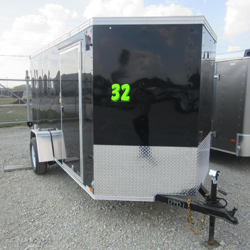 2018 United Trailers 6x12 SA ENCLOSED Enclosed Cargo Trailer