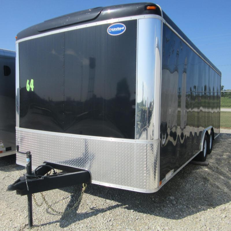 2016 United Trailers 8.5x20 enclosed Enclosed Cargo Trailer