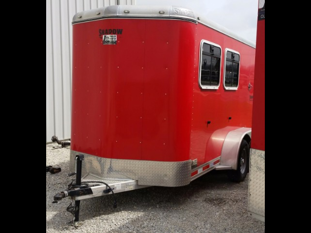 2009 Shadow Trailers 7155s Horse Trailer