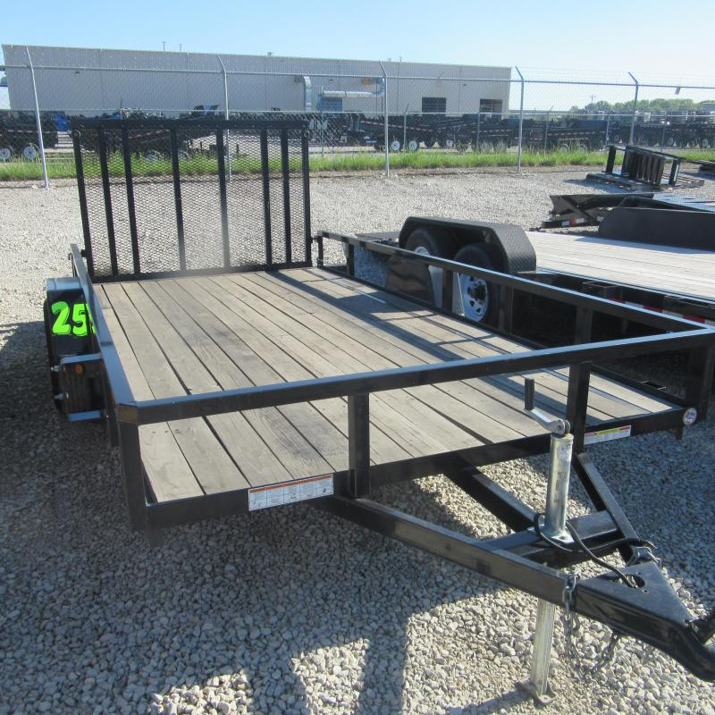 2016 Sure-Trac 7x14 single axle Utility Trailer