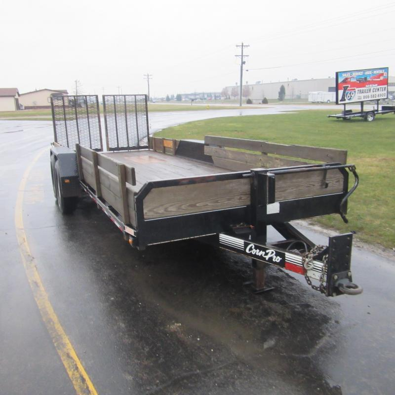 2005 CornPro Trailers 7x20 implement Equipment Trailer
