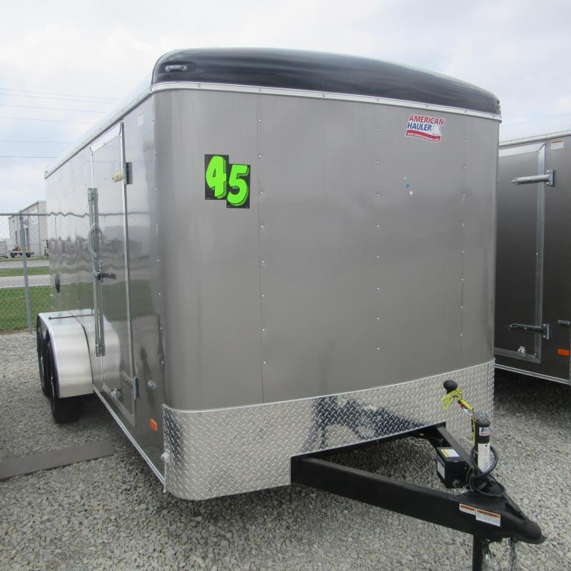 2019 American Hauler Industries 7x16 enclosed Enclosed Cargo Trailer