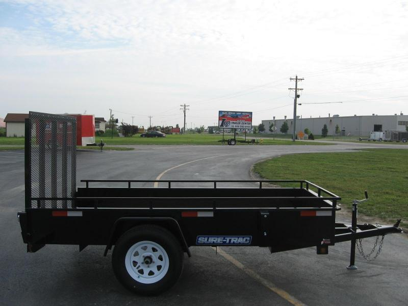 2018 Sure-Trac 5x10 high side Utility Trailer