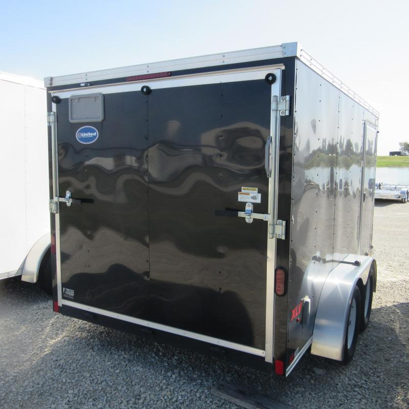 2016 United Trailers 7x12 enclosed Enclosed Cargo Trailer