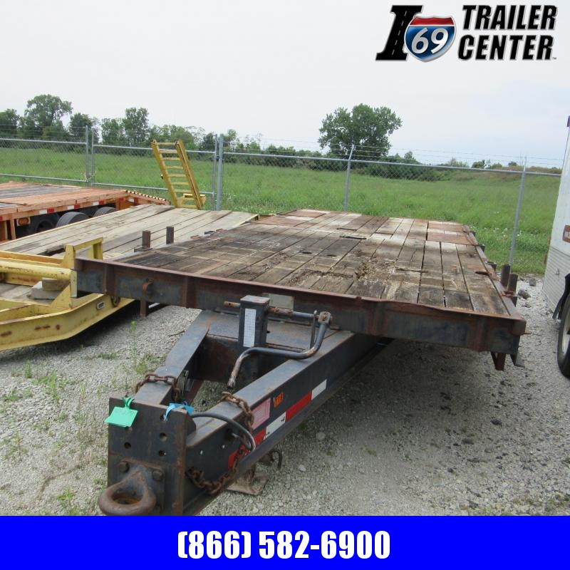 1995 Trail King HD Equipment Trailer