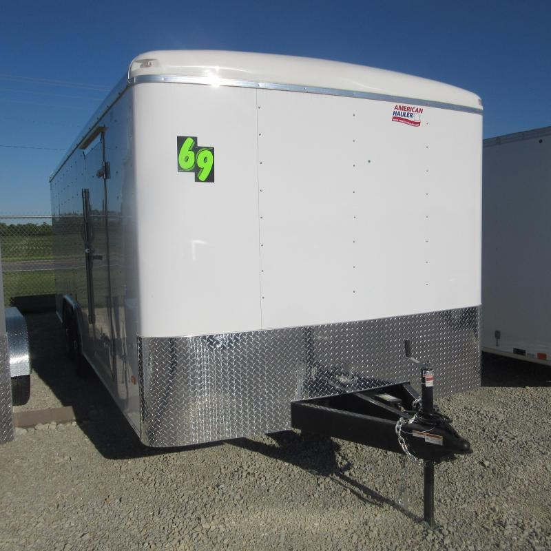2018 American Hauler Industries 8.5x20 enclosed Enclosed Cargo Trailer