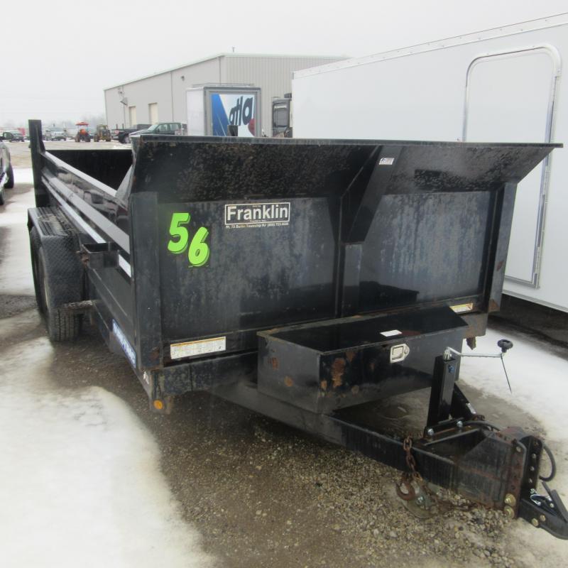 2013 Sure-Trac 7x14 dump trailer Dump Trailer