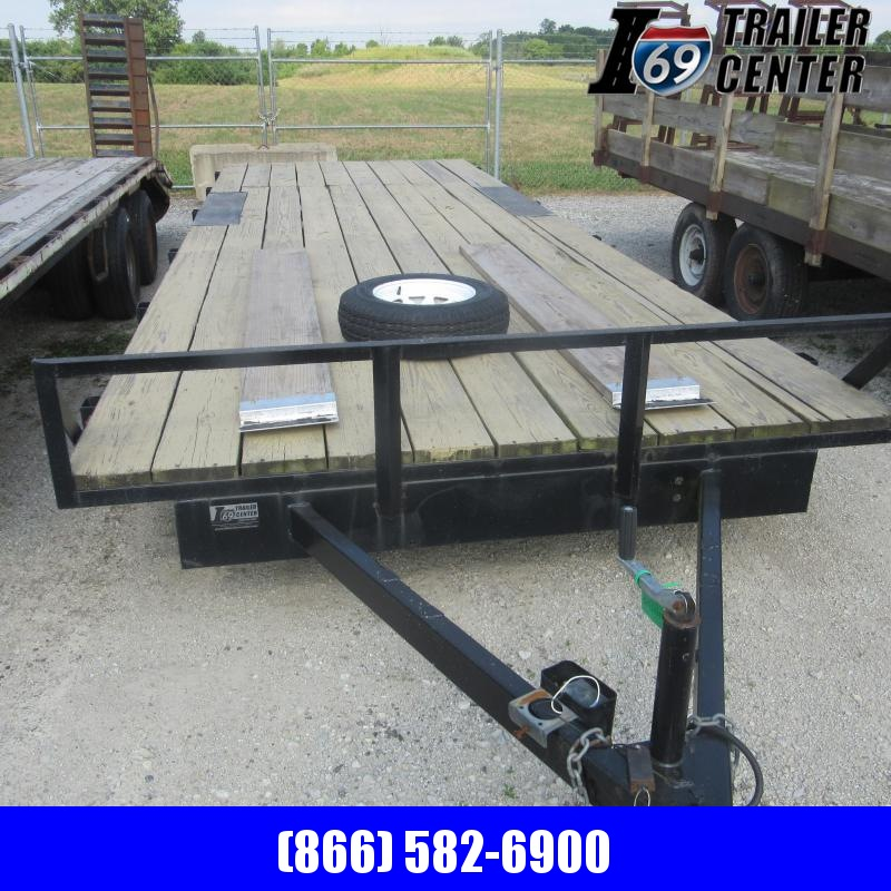 1989 Other 8X25 DECKOVER Flatbed Trailer