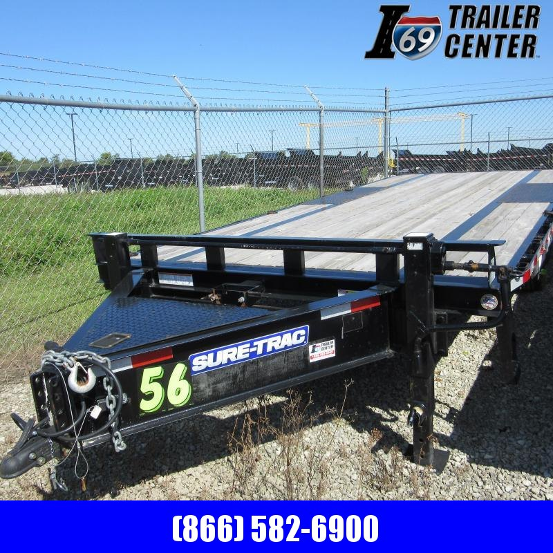2017 Sure-Trac 102x20 deckover Equipment Trailer
