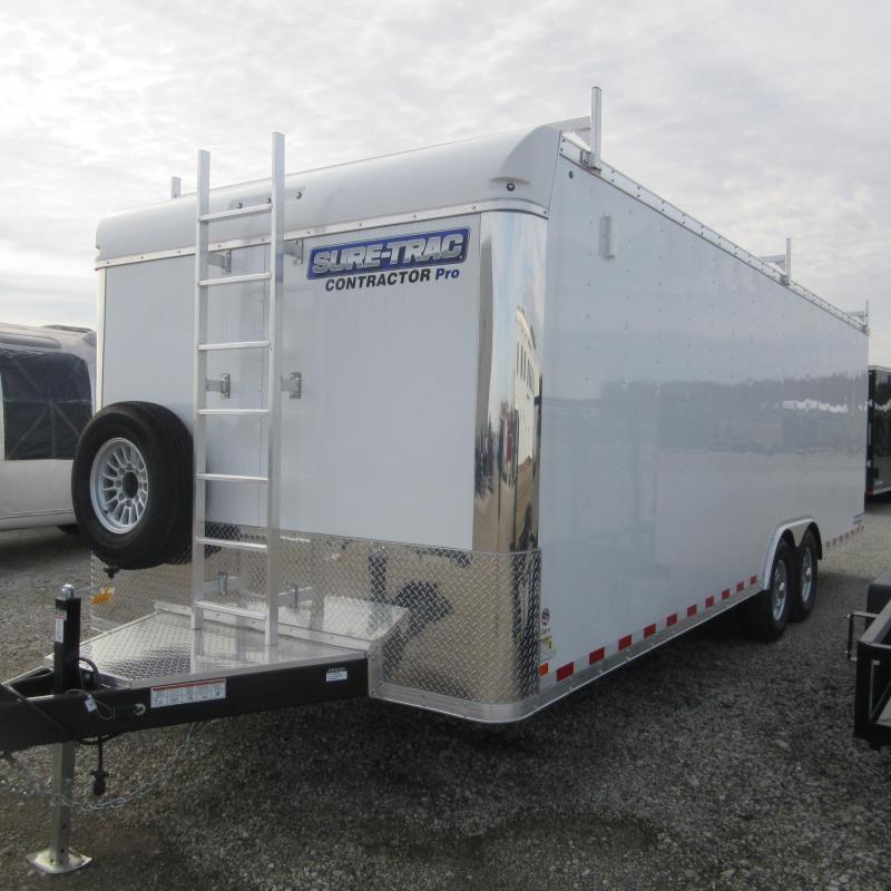 2018 Sure-Trac 8.5 x 24 Contractor Pro BN Cargo TA 14K