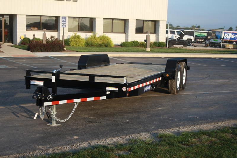 2018 Sure-Trac 7x184 tilt Equipment Trailer