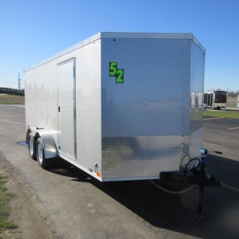 2017 United Trailers 7 x 16 XLV Enclosed Trailer