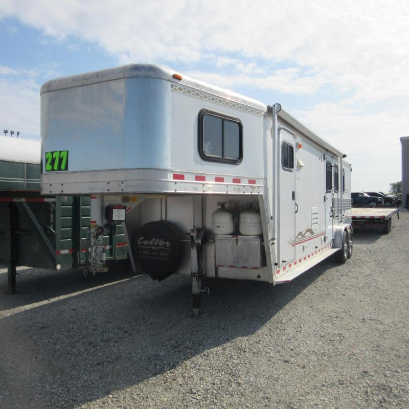 2002 Kiefer Built genesis x-380 Horse Trailer
