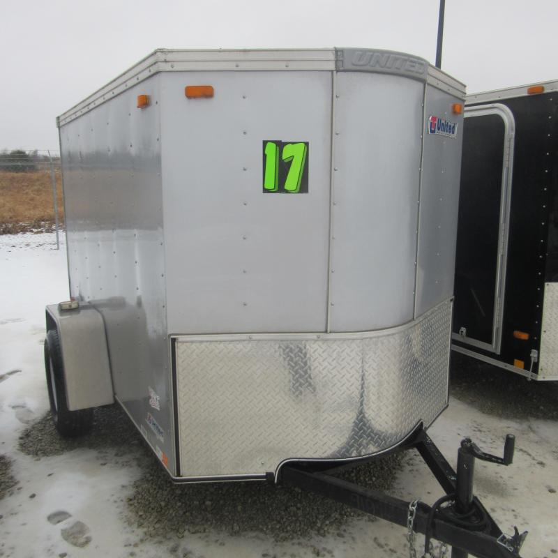 2016 United Trailers 5X8 ENCLOSED Enclosed Cargo Trailer