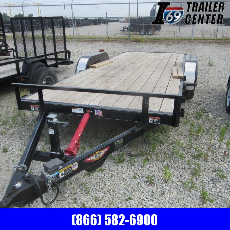 2018 H and H Trailer 7X18 TILT CH Car / Racing Trailer