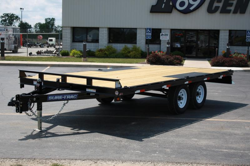 2017 Sure-Trac 8.5 X 16 Flat Deck Deckover 10k