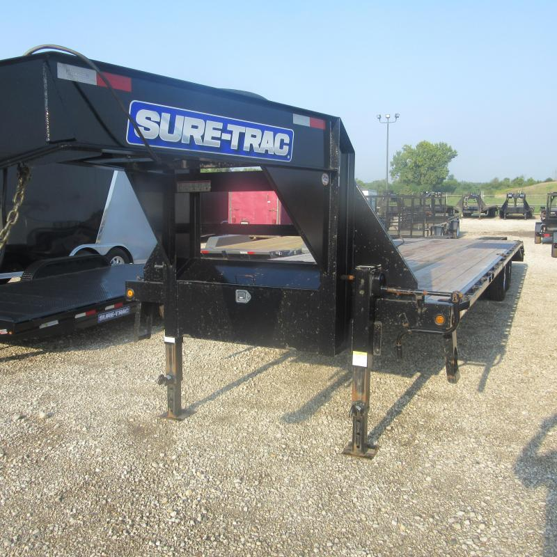 2017 Sure-Trac 8.5x305 deckover GN Flatbed Trailer
