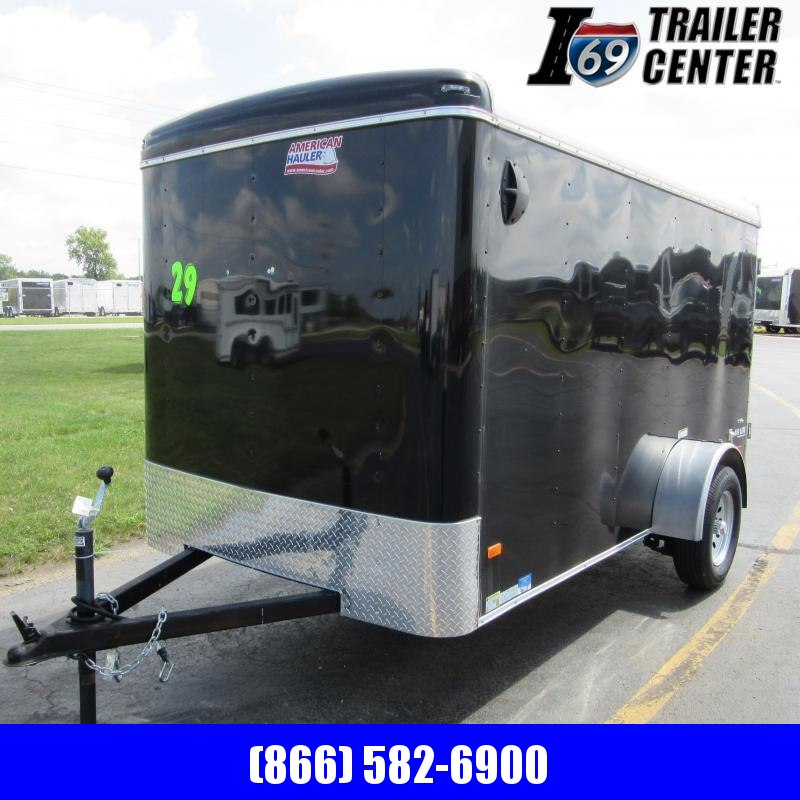 2019 American Hauler Industries 6 x 12 Enclosed Cargo Trailer