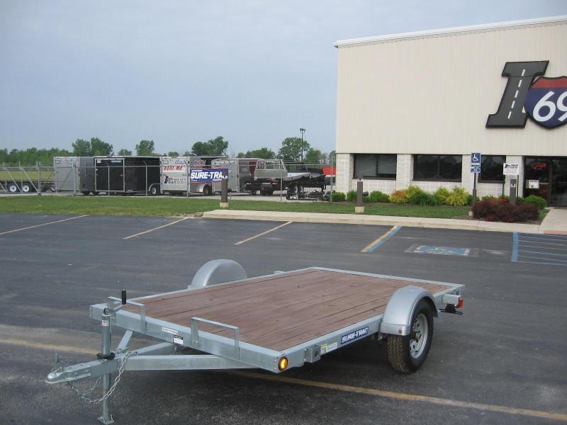 2017 Sure-Trac 5 x 8 Galvanized Tilt Bed 2k Idler