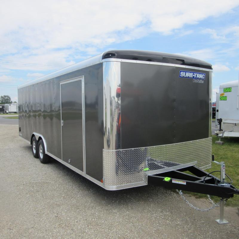 2017 Sure-Trac 8.5 x 20 Pro Series RT Car Hauler TA 10K
