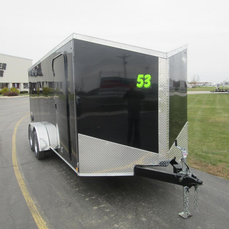 2019 Impact Trailers 7X16 ENCLOSED Enclosed Cargo Trailer