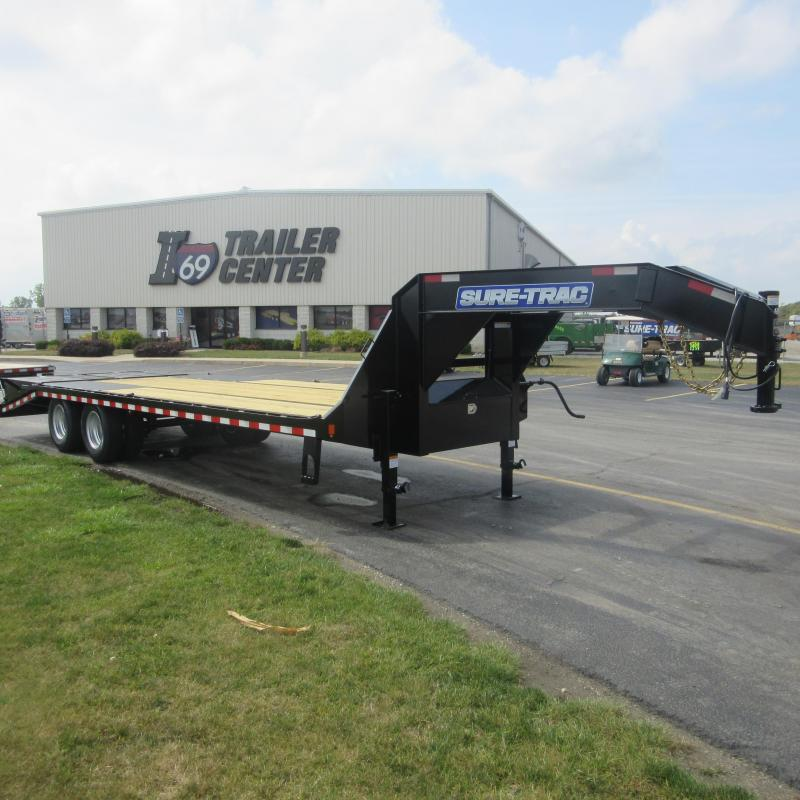 2018 Sure-Trac 205 deckover Flatbed Trailer
