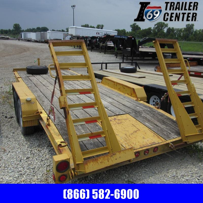 2010 Superior Trailers 7 x 18 implement Equipment Trailer