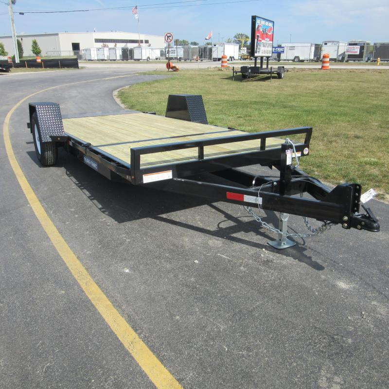 2018 Sure-Trac 78x124 Equipment Trailer