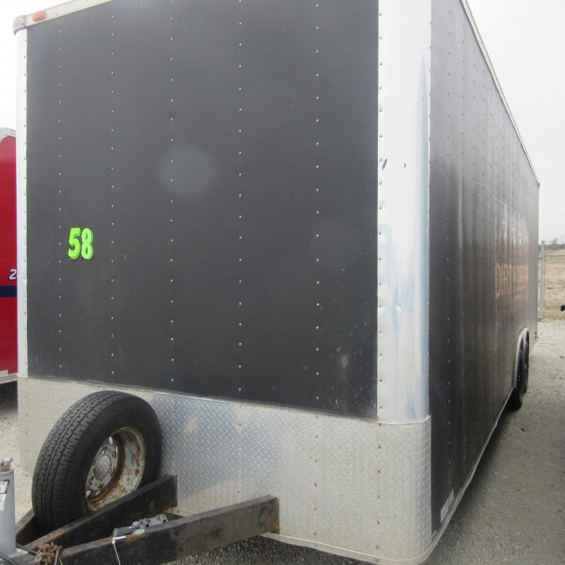 2007 Frontier 8.5x28 enclosed Enclosed Cargo Trailer