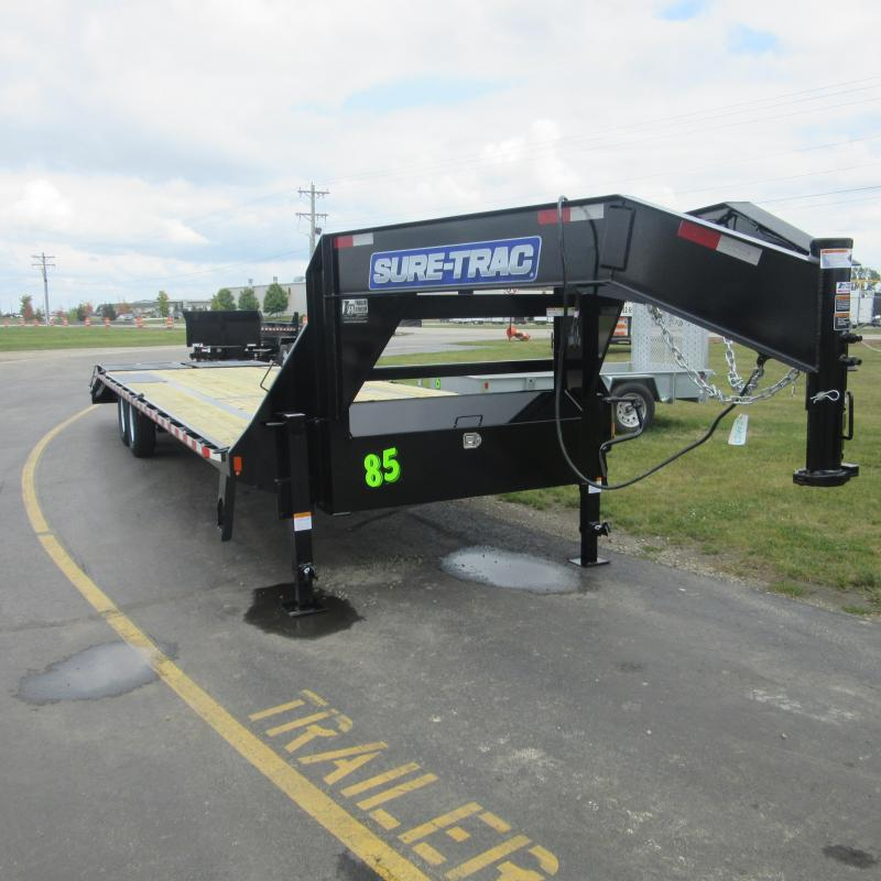 2018 Sure-Trac 255 deckover Flatbed Trailer