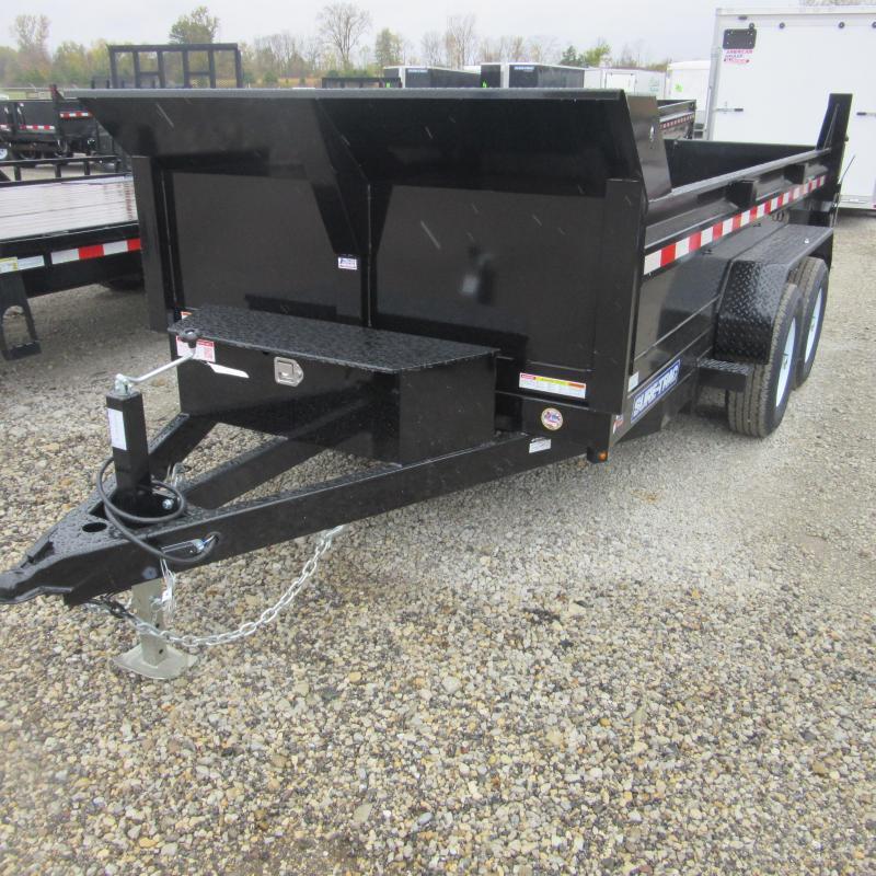 2017 Sure-Trac 6x12 lo pro dump trailer Dump Trailer