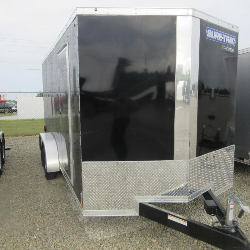 2017 Sure-Trac 7 x 16 Pro Series Wedge Cargo TA 7K