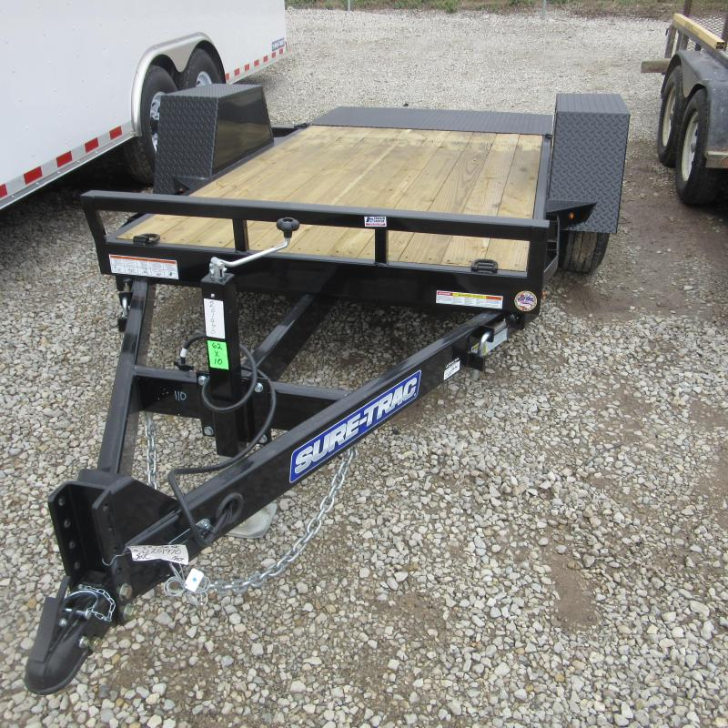 2018 Sure-Trac 5X10 PANTILT Equipment Trailer