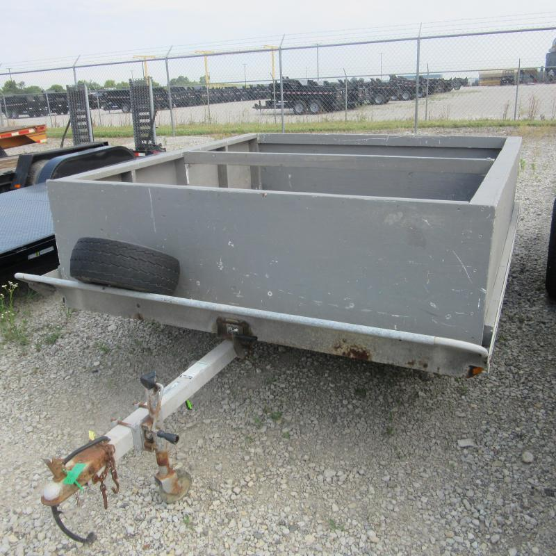 1997 Other 8X10 TILT DO Flatbed Trailer