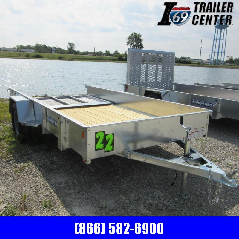 2020 Sure-Trac 6 X 12 Galvanized High Side Utility Trailer