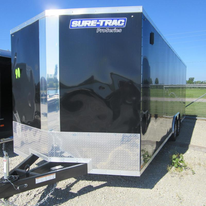 2019 Sure-Trac 8.5x24 Pro Series Wedge C. Hauler TA 10K