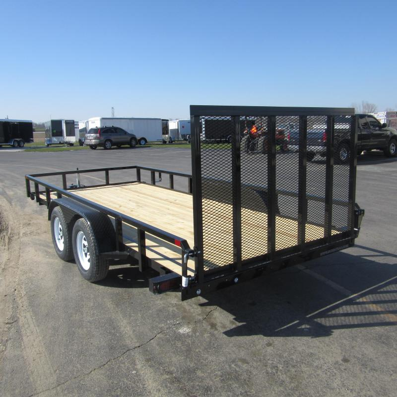 2018 Sure-Trac 7x14 tube top utility Utility Trailer