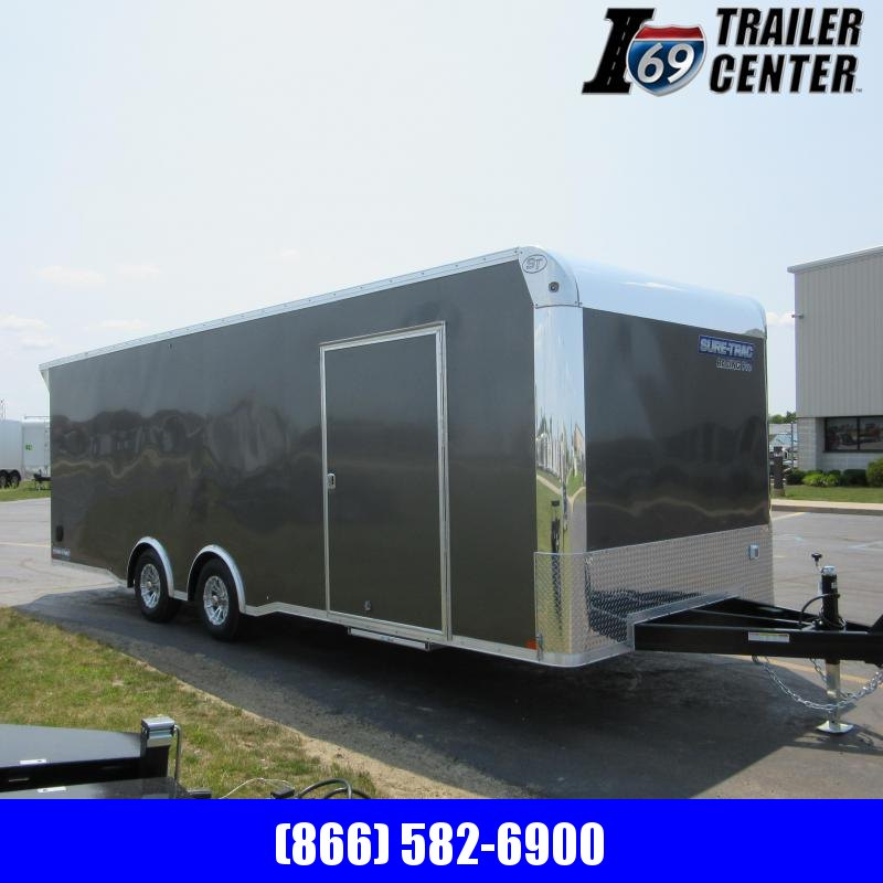 2020 Sure-Trac Racing Pro Bullnose Car hauler 10K Car / Racing Trailer
