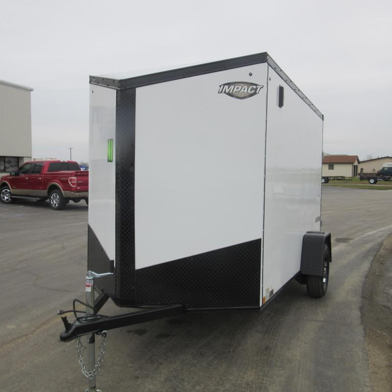 2019 Impact Trailers 6X10 ENCLOSED Enclosed Cargo Trailer