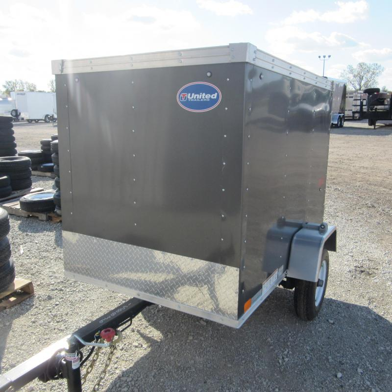 2018 United Trailers 4x6 enclosed Enclosed Cargo Trailer