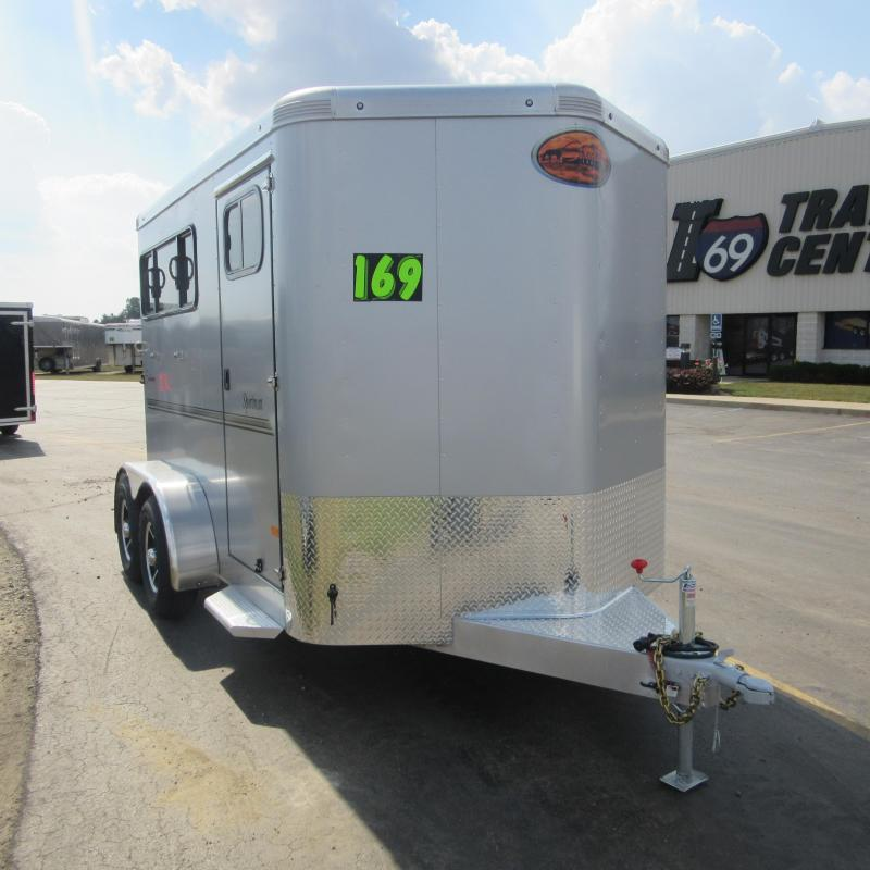 2018 Sundowner Trailers SPORTSMAN2HBP Horse Trailer