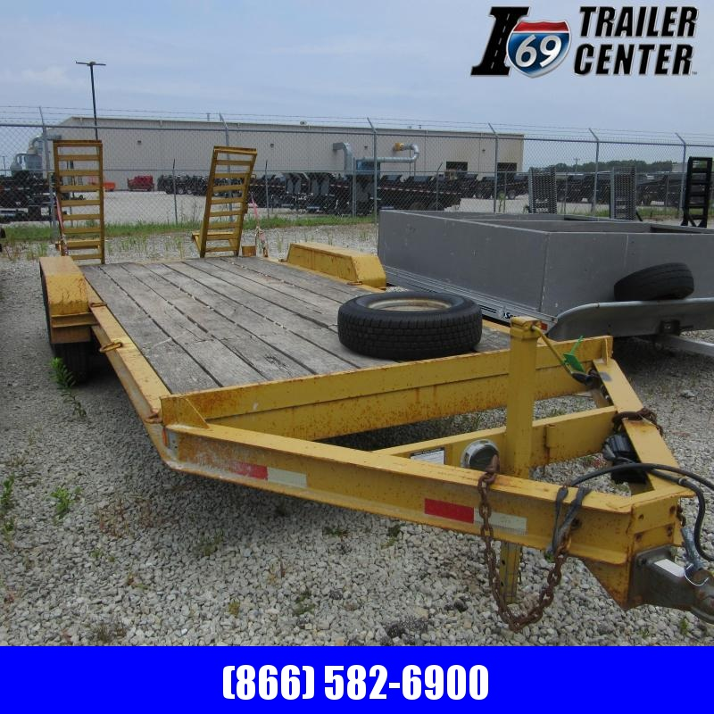 2001 Econoline deckover Equipment Trailer